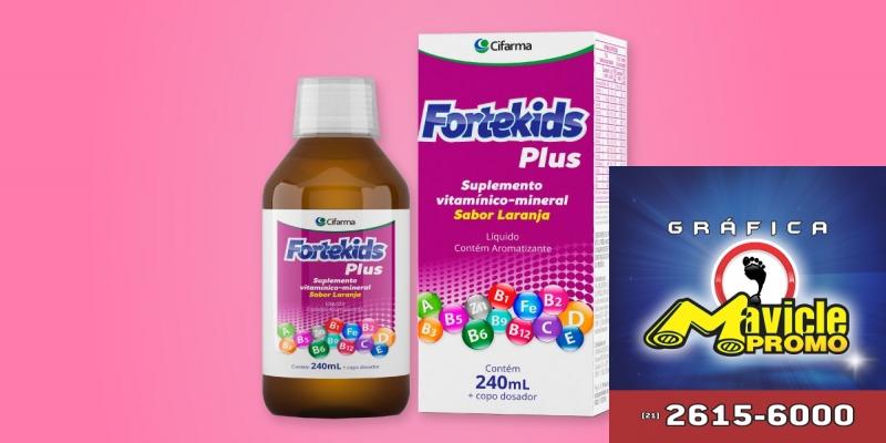 Cifarma lança o suplemento Fortekids   Guia da Farmácia   Imã de geladeira e Gráfica Mavicle Promo