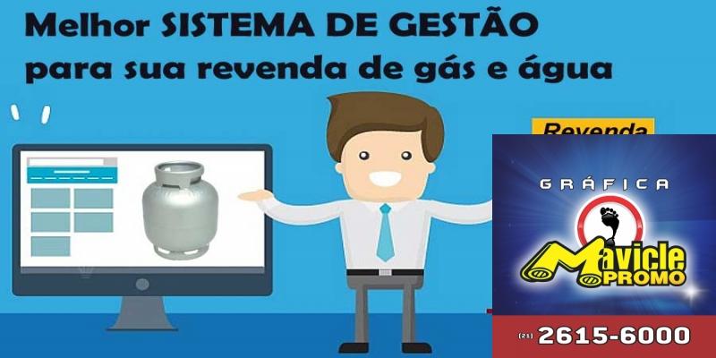 Melhor sistema de gestão para sua revenda de gás e água   Academia do Distribuidor   Imã de geladeira e Gráfica Mavicle Promo