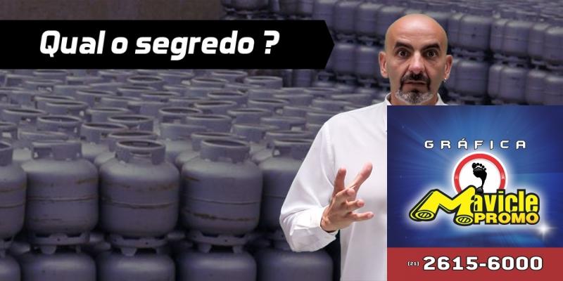 Qual é o segredo de quem vende mais gás do que eu ?   Academia do Distribuidor   Imã de geladeira e Gráfica Mavicle Promo