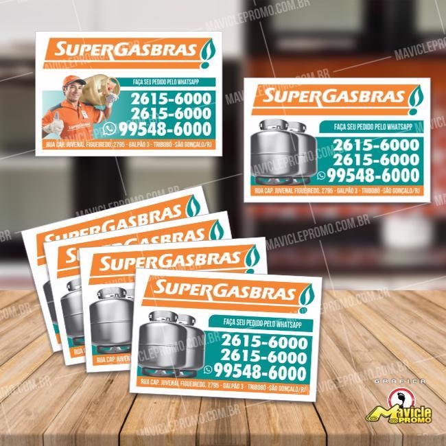 Supergasbras Ímã de Geladeira para Revenda de Gás   Imã de geladeira e Gráfica Mavicle Promo