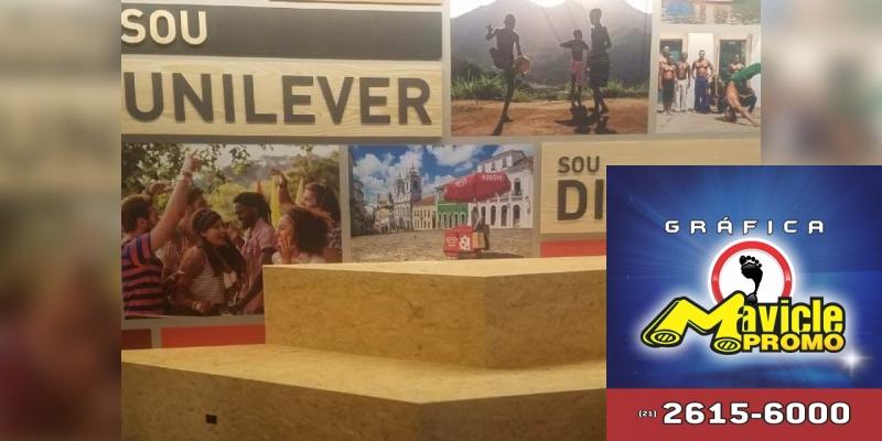 A Unilever conta com sede focada na sustentabilidade e colaboração   Guia da Farmácia   Imã de geladeira e Gráfica Mavicle Promo