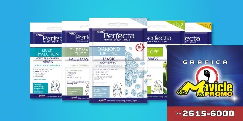 Máscaras faciais renovam a pele   Guia da Farmácia   Imã de geladeira e Gráfica Mavicle Promo
