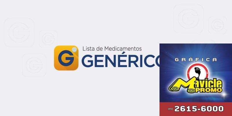 Satisfação de lança Aplicativo Genéricos   Guia da Farmácia   Imã de geladeira e Gráfica Mavicle Promo