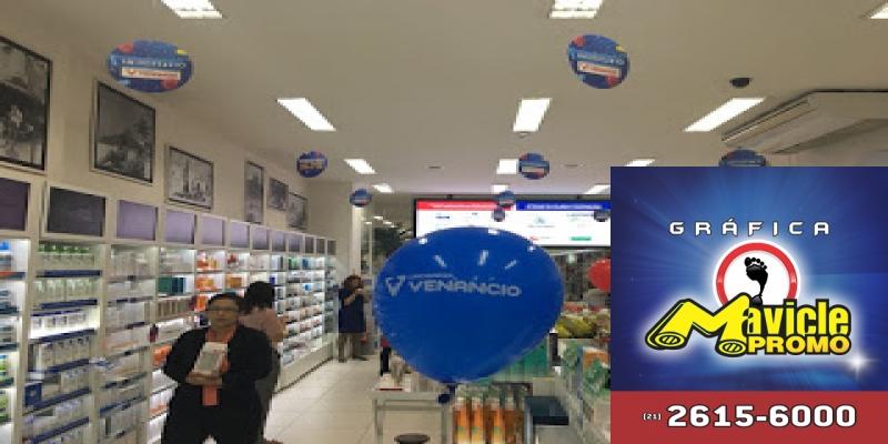 Farmácia Venâncio comemora 39 anos com promoções
