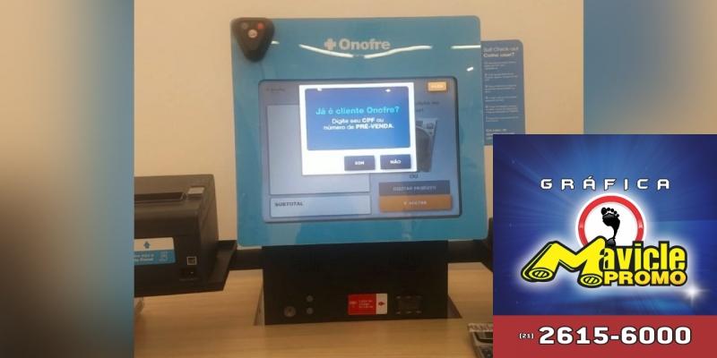 Onofre CVS Pharmacy: os clientes podem fazer o pagamento em toda a loja   Guia da Farmácia   Imã de geladeira e Gráfica Mavicle Promo