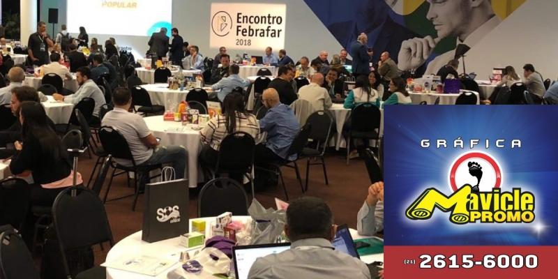 Segundo encontro anual da Febrafar está acontecendo em São Paulo   Guia da Farmácia   Imã de geladeira e Gráfica Mavicle Promo