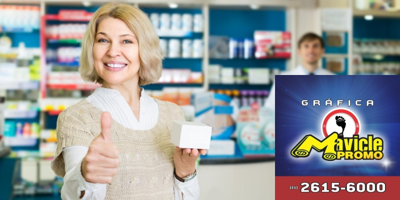 Conheça os hábitos de compra na terceira idade   Guia da Farmácia   Imã de geladeira e Gráfica Mavicle Promo