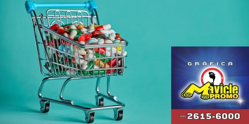 Os riscos dos medicamentos em supermercados, na Guia da Farmácia   Imã de geladeira e Gráfica Mavicle Promo