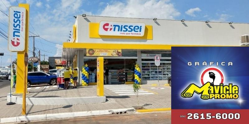 Nissei inaugura a quinta farmácias em Bauru   Guia da Farmácia   Imã de geladeira e Gráfica Mavicle Promo