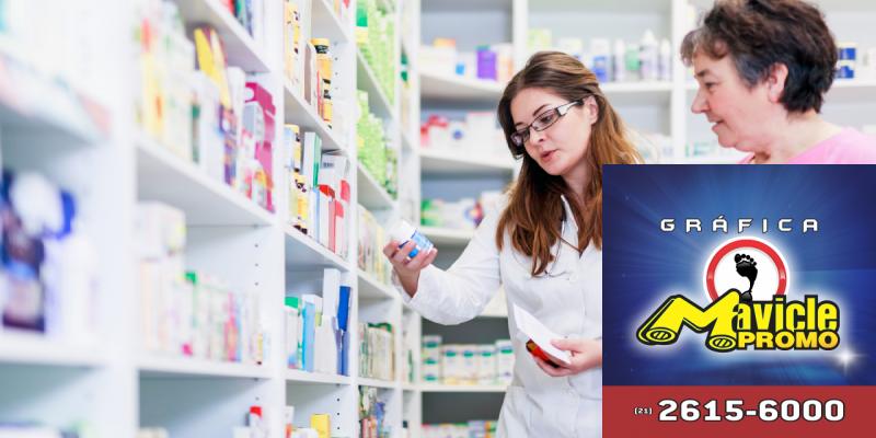 Desempenho acima da média   Guia da Farmácia   Imã de geladeira e Gráfica Mavicle Promo