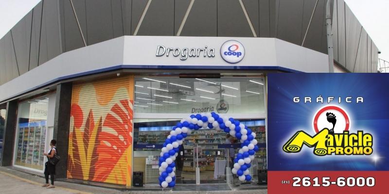 Coop prevê mais de cinco drogarias da rua para 2019   Guia da Farmácia   Imã de geladeira e Gráfica Mavicle Promo