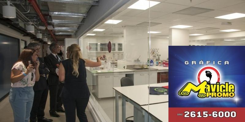 Um dos laboratórios do centro de inovação da P&G em Louveira (SP). (Foto: Divulgação)