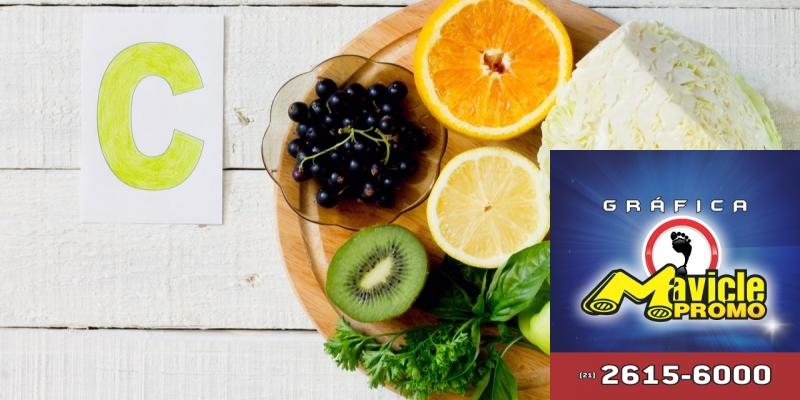 Vitamina C: compreende a ação antioxidante, rejuvenescedor e clareadora   Imã de geladeira e Gráfica Mavicle Promo