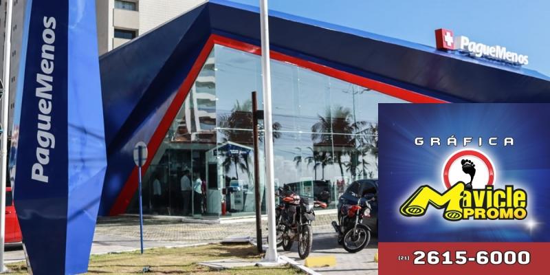 Paga Menos, foi inaugurada a loja, com uma arquitetura centrada no conceito de que Viva Plenamente no